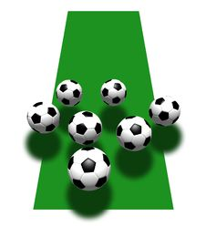 Free Soccer Balls Royalty Free Stock Images - 5359009