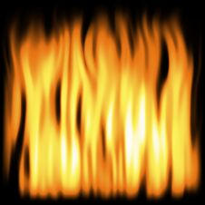 Free Flames 4 Royalty Free Stock Image - 5359426