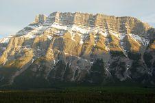 Free North Ridge Of Mount Rundle Stock Photo - 5359630