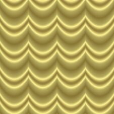 Free Golden Waves Curtain Royalty Free Stock Photo - 5359665