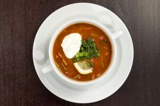 Free Vegetable Soup. Royalty Free Stock Photo - 5359745