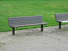 Free Park Bench Stock Image - 5359791
