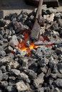 Free Medieval Craftsman Blacksmith Stock Photo - 5364550