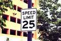 Free Speed Limit Royalty Free Stock Image - 5367516