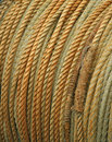 Free Coiled Rope Detail Royalty Free Stock Image - 5368756