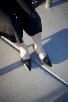 Free Businesswoman Legs Royalty Free Stock Image - 5360146