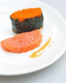 Free Japanese Sushi Royalty Free Stock Photos - 5360238