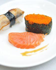 Free Japanese Sushi Stock Photography - 5360242