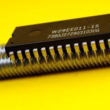 Free Microprocessor Royalty Free Stock Photo - 5360265