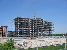 Skeleton Of Building Stock Photo