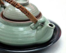 Free Teapot On White Stock Photo - 5360550