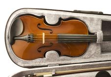 Free Violin And Bow Stock Photos - 5360873