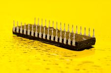 Microprocessor Royalty Free Stock Photo