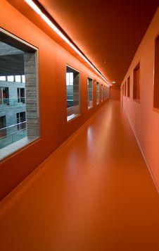 Free Red Corridor Stock Photo - 5362050
