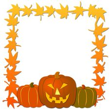 Free Halloween Frame Stock Images - 5362694