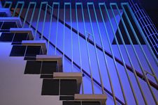 Free Modern Stairs In A Hospital In The Netherlands Stock Image - 5362721