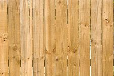Free New Wood Fence Royalty Free Stock Photos - 5362878