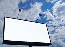 Free Blank Billboard Royalty Free Stock Photo - 5363615