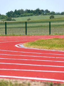Free Racing Track - Closeup Stock Image - 5363691
