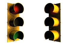 Free Traffic Lights Stock Image - 5363811