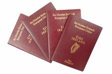 European Passports Stock Image