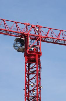 Free Construction Crane Royalty Free Stock Images - 5364149