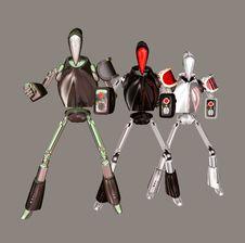Free Robots Stock Photography - 5365332