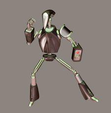 Free Robot Stock Image - 5365361