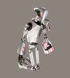 Free Robot Stock Image - 5365411