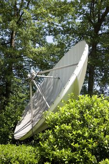 Free Satellite Dish In Trees Stock Photos - 5366013