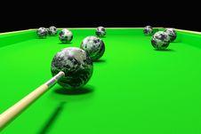 Free Billiards Royalty Free Stock Image - 5366266