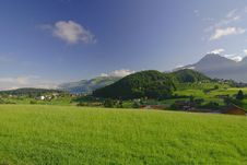 Free Mountains, Meadows And The Sky Stock Photos - 5366403