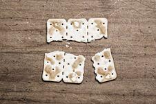Free Broken Cracker. Stock Photography - 5366692