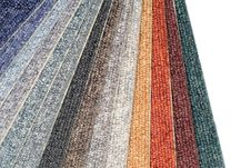 Free Color Range Of Carpet Samples Stock Photography - 5366792