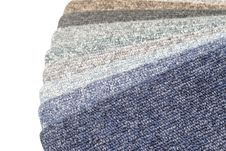 Free Color Range Of Carpet Samples Royalty Free Stock Photos - 5366848