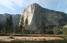 Free River With El Capitan Stock Photo - 5367040