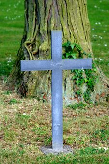 Free Lonely Musketeer Grave (World War I) Stock Photos - 5367143