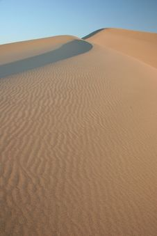 Free Death Valley Sand Dunes Stock Image - 5367311