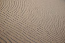Free Endless Sand Ripples Stock Image - 5367361