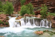 Free Havasupai River Basin Royalty Free Stock Photography - 5367447