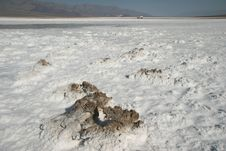 Free Crossing The Badwater Basin Stock Photography - 5367532