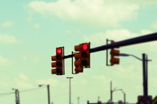 Free Traffic Lights Royalty Free Stock Images - 5367599