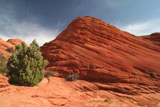 Free Rock Formation In Pariah Canyon Royalty Free Stock Photos - 5367758