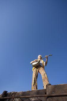Free Banjo Player Stock Photography - 5368172