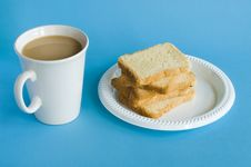 Free Coffee And Toasts Stock Photography - 5368332