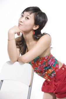 Free Chinese Lady Royalty Free Stock Photo - 5368335