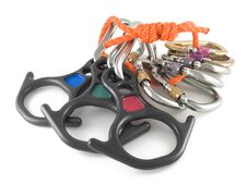 Free Carabiners Rope And Rescue 8 Royalty Free Stock Images - 5368429