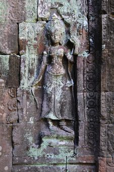 Free Cambodia, Angkor: The Preah Khan Stock Images - 5368744