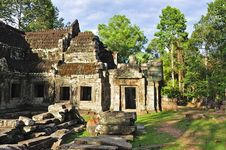 Free Cambodia, Angkor: The Preah Khan Stock Photo - 5368760