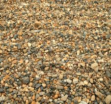 Rippled Pebble Sand Detail Stock Image